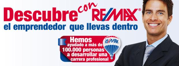 Descubre con REMAX el emprendedor que llevas dentr