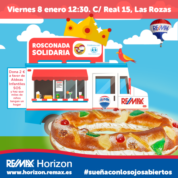 rosconada roscon reyes remax horizon las rozas