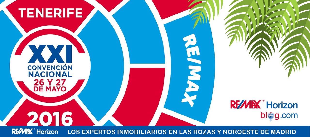 XXI Convencion REMAX Tenerife horizon las rozas inmobiliaria